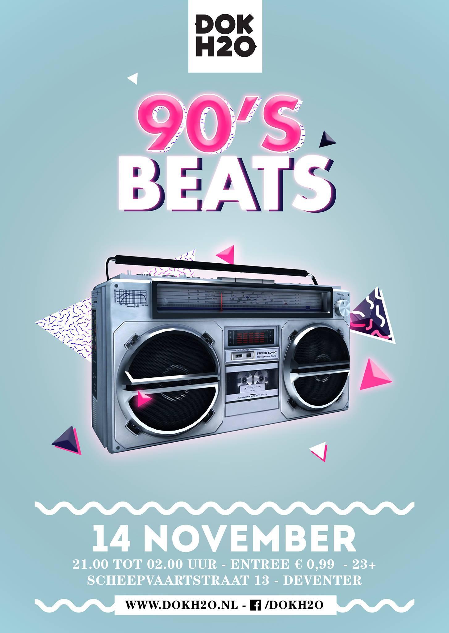 90's Beats - Tickets & info