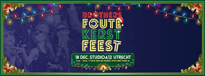 Brothers Foute Kerstfeest (flyer)