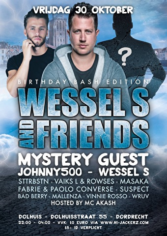 Wessel S And Friends (flyer)