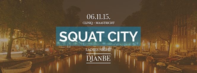 Squat City (flyer)