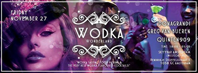 Wodka Wonderland (flyer)