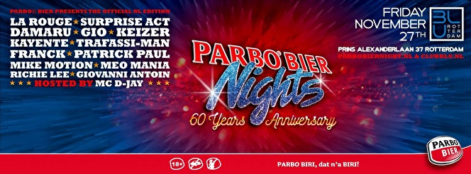 Parbo Bier Night (flyer)