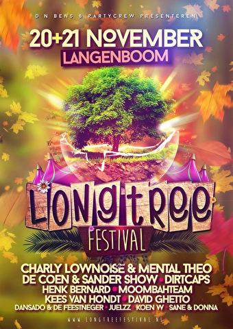 Long Tree Festival (flyer)