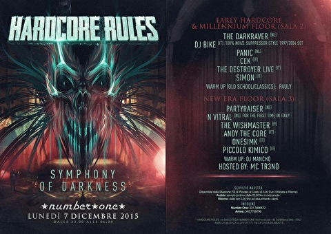 Hardcore Rules (flyer)