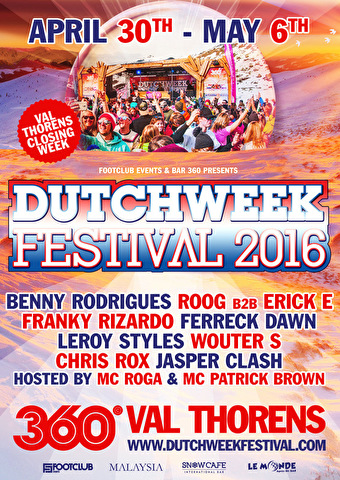 Dutchweek Festival (flyer)