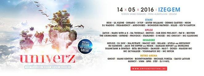 Univerz Festival (flyer)