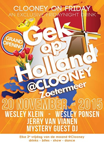 Gek op Holland (flyer)