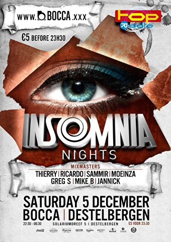Insomnia Nights (flyer)