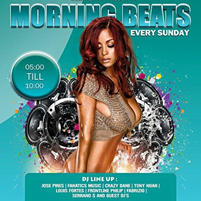 Morning beats (flyer)