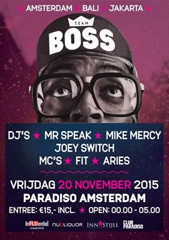 BOSS (flyer)