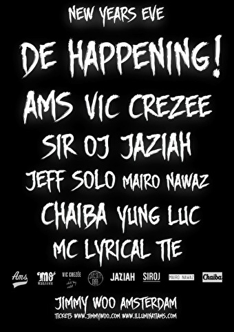 De Happening NYE (flyer)