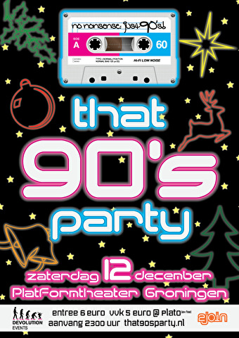 That 90's Party (flyer)