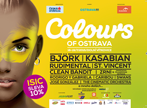 Colours of Ostrava 2015 (flyer)