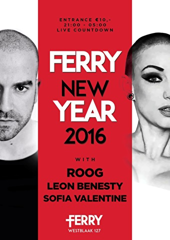 Ferry New Year (flyer)