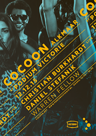 Cocoon Labelnight (flyer)