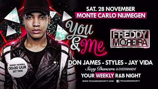 You&Me invites Freddy Moreira (flyer)