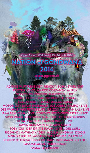 Nation of Gondwana (flyer)