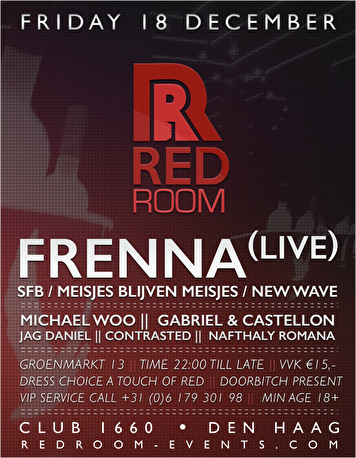 Red Room (flyer)