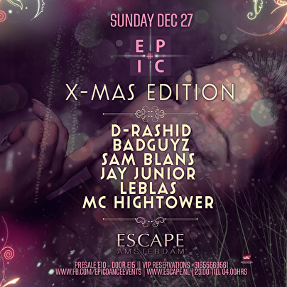 Epic X-Mas Special (flyer)