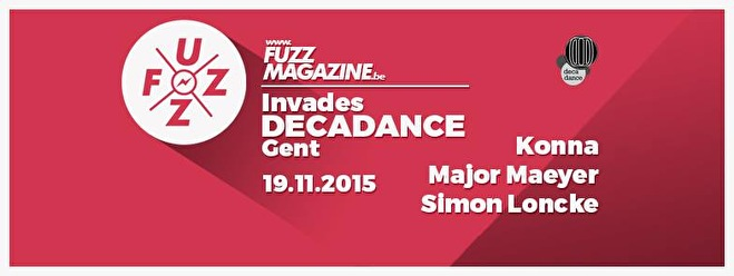 Fuzz Magazine invades Decadance (flyer)