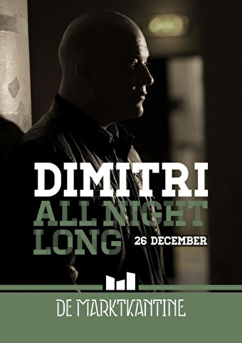 All Night Long with Dimitri (flyer)