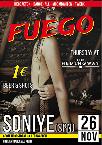 Fuego Party (flyer)