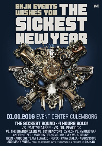 The Sickest New Year (flyer)