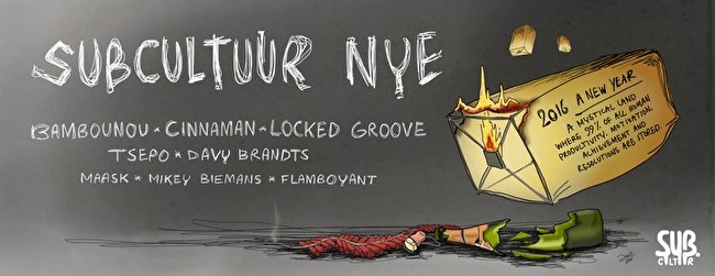Subcultuur NYE (flyer)