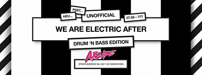 Unofficial We are Electric after (flyer)