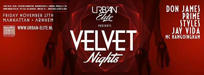 Velvet Nights (flyer)