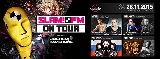 SLAM!FM on tour (flyer)