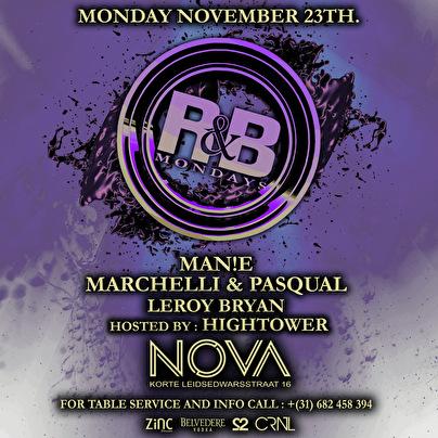 R&B Mondays (flyer)
