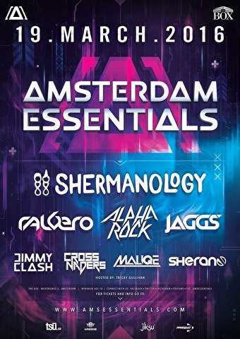 Amsterdam Essential Indoor Festival (flyer)