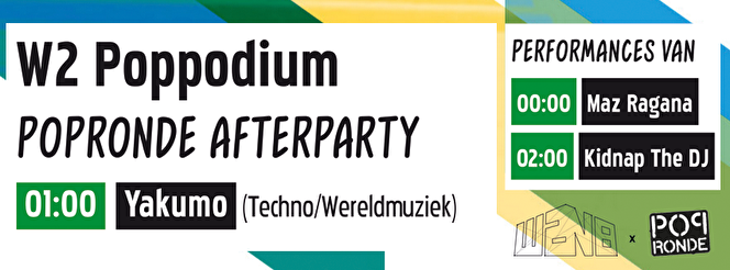 Popronde Afterparty (flyer)