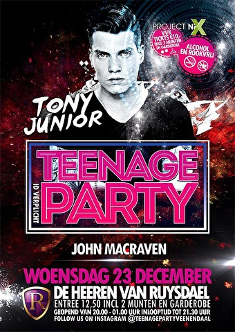 Teenage Party (flyer)