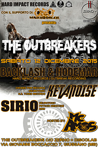 The Outbreakers (flyer)