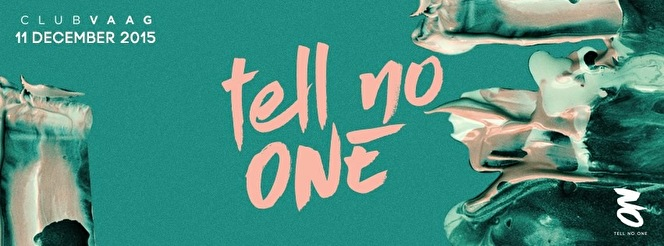 Tell No One (flyer)