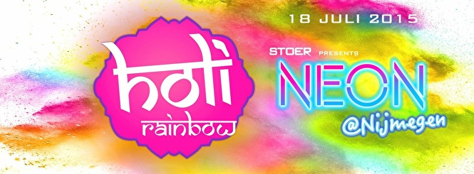 Holi Rainbow (flyer)