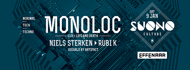 Suono Culture presents Monoloc (flyer)