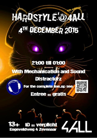 Hardstyle @ 4all (flyer)