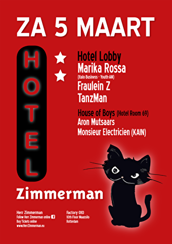 Hotel Zimmerman (flyer)