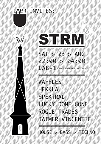 LAB-1 invites STRM (flyer)