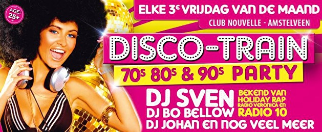 Disco-Train 70s 80s 90s (flyer)
