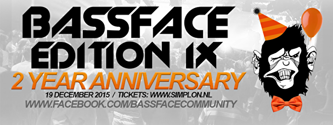 Bassface Edition IX (flyer)