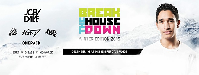 Break The House Down (flyer)