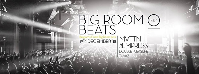 Big Room Beats (flyer)