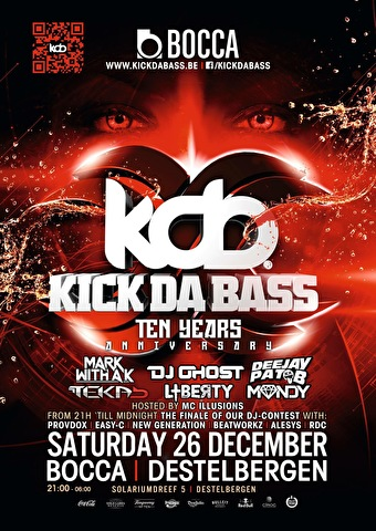 10 Years Kick Da Bass (flyer)