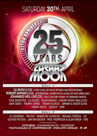 25 Years Cherry Moon (flyer)