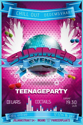 Teenage Summer Party (flyer)