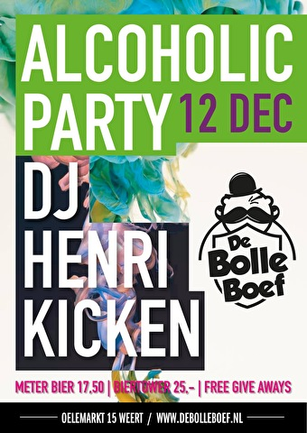 Alcoholic Party (flyer)